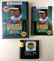 ✅ Tony La Russa Baseball (Sega Genesis, 1993) with Manual, Tested