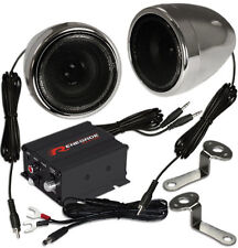 Motorrad Hifi System  Renegade RXA 100C Chrom Edition