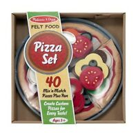 Melissa & Doug Felt Food - Pizza Set for  Home School Activities Fun Toy NEW