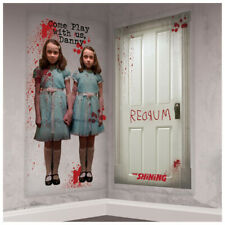 STEPHEN KING'S The Shining SCENE SETTER ADD-ON'S (2pc)~ Halloween Party Supplies