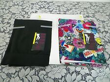 NEW Lot of 2 NOBO Sexy,TrendyWild Funky  Ankle& Black Capri,Leggings, LG11-13JRS