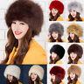 High Quality Fashion Russian Trapper Cossack Faux Fur Ladies Ushanka Winter Hats