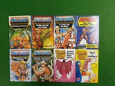 Lot of 8 Ladybird Masters of the Universe He-Man She-Ra Books 1st Editions