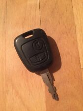 Occasion peugeot 206 remote key fob-genuine part - 2001 +