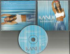 KANDI Don't Think I'm Not 3TRX EDIT & REMIX & INSTRUMENTAL PROMO DJ CD single