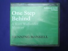 Kurt Wallander: One Step Behind (2009, CD, Unabridged) - Ex-Library