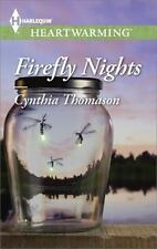 Firefly Nights by Cynthia Thomason (Paperback)larger print