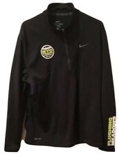 Nike Dri Fit NYC Tennis US Open 2010 Flushing Meadow Zip Up Jacket Size L