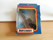 """Matchbox Skybusters SB-29 SR-71 Blackbird """"US Air Force"""" in Black in Box"""
