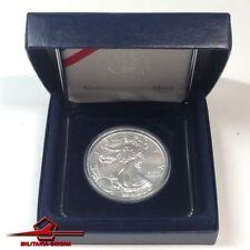2018 Aigle 1 Dollar Pièce de Monnaie 1 oz Fine Silver. Liberty. avec Luxe Boîte
