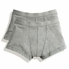 Gents Fruit of the Loom Classic Shorty Underwear 2 Pack Boxer Shorts