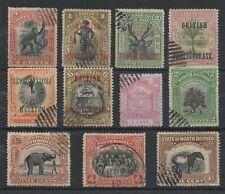 C-548 NORTH BORNEO British protectorate, pictorial stamps - used