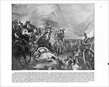 Bataille de Rivoli Napoleon Versailles / Seville Sevilla Spain Espana 1897 PRINT