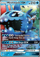 Wishiwashi GX 38/145 SM Guardians Rising Ultra Rare Pokemon Card MINT TCG