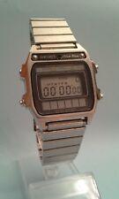 Seiko A628 - 5030 Silver Wave rare vintage digital solar watch