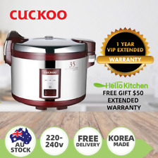 Cuckoo CR-3521 6.3L Rice Cooker - Red/Silver