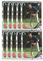 x600 MATTHEW LUGO 2019 Bowman Draft #139 Rookie Card RC lot/set Boston Red Sox!!