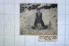 1960 Jennifer Fox Of Edwin Rd Rainham Mark Kent Enjoying Toboggan Run