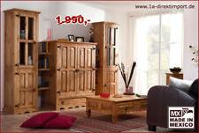 Mediterrane Wohnwände aus Massivholz fürs Wohnzimmer