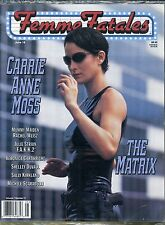 Femme Fatales Magazine Carrie Ann Moss Vol 7 No 17 June SEALED