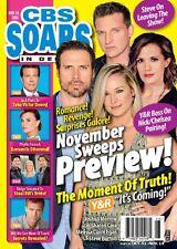 CBS Soaps In Depth Magazine - November 14, 2016 - Steve Burton, Sharon Case