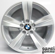 """4 CERCHI IN LEGA 18 """" BMW SERIE 3 E90 ORIGINALI USATI 6768858 6768859"""
