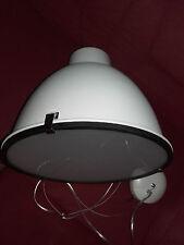 -Hängelampe ,Deckenlampe Landhaus, Loft,Brillant Metall, Weiß Industrie