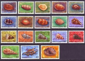 Samoa 1978 SC 478-494A MNH Set Shell