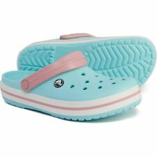 NEW Crocs Crocband Clogs Shoes Size 10 MENS / Size 12 WOMENS Ice Blue