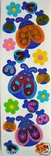 LADY BUGS Shiny Retro Sandylion Scrapbooking Stickers *FAST SHIP* J33