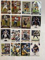 LA Rams Football Card Lot Jared Goff Cooper Kupp Darrell Henderson Prizm Rookie