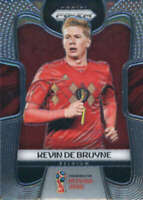 2018 Panini Prizm World Cup #17 Kevin De Bruyne Belgium Soccer Card