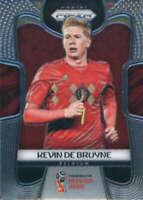 2018 Panini Prizm World Cup #17 Kevin De Bruyne Belgium Soccer Card