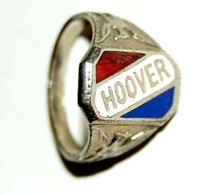1928 HERBERT HOOVER RING ( campaign political button pinback presidential elect