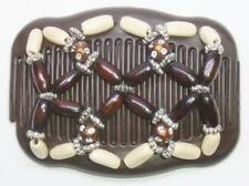 """Double Magic Hair Comb, Angel Wings Clips 4x3.5"""", African Butterfly,Quality MS57"""