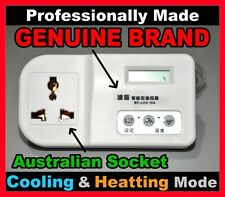 DIGITAL FRIDGE THERMOSTAT for HOME BREWING -9 to 38 Deg C - Genuine Brand