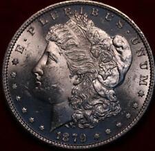 Uncirculated 1879-S San Francisco Mint Silver Morgan Dollar