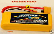 Bateria Lipo 2200mA  3S 11,1v 25C alimentación modelos aviones coches lanchas