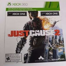 Just Cause 2 DOWNLOAD CARD FOR Xbox ONE #2107