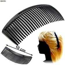 Grand Peigne noir longueur 10 cm  Accessoire de coiffure