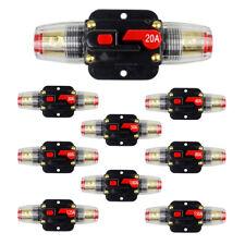 Auto Car Marine Bike Stereo Audio Circuit Breaker Reset Fuse Inverter DC12V-24V^