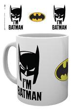 Comic Batman estoy Batman Capucha 10oz Taza de Cerámica Té De Dc Comics Superheroe Arkham