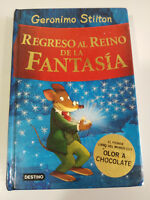 GERONIMO STILTON REGRESO AL REINO DE LA FANTASIA LIBRO EDITORIAL DESTINO