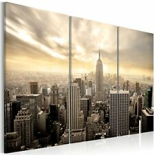 MANHATTAN NEW YORK Canvas Print Framed Wall Art Picture Photo Image 030111-55