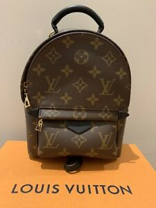 AS NEW - LV LOUIS VUITTON PALM SPRINGS MINI MONOGRAM BAG BACKPACK