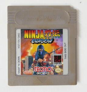 Ninja Gaiden Shadow Nintendo Gameboy Original Authentic Game