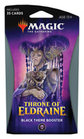 Throne of Eldraine (Theme Booster Pack)  BLACK - Magic the Gathering (MTG)