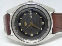 SEIKO 5 AUTOMATIC DAY&DATE BLACK COLOR ORIGINAL DIAL STYLISH FIGURE MAN'S WATCH