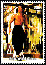 Guinea postfrisch MNH Bruce Lee TV Kino Hollywood Martial Arts Schauspieler / 7