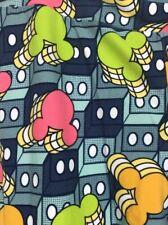 Luluaroe DISNEY Neon MICKEY Leggings One Size OS NWT# CC208
